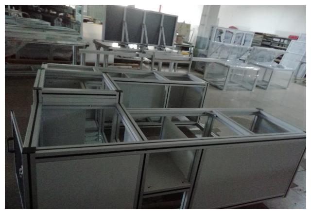 铝型材物料架的材质种类