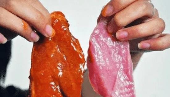 """""""假牛肉""""是怎么做成的?得知原材料后,网友:再也不会被骗了!"""