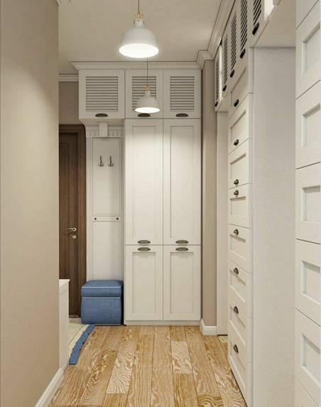 门口装个封闭式衣柜,太有必要了!