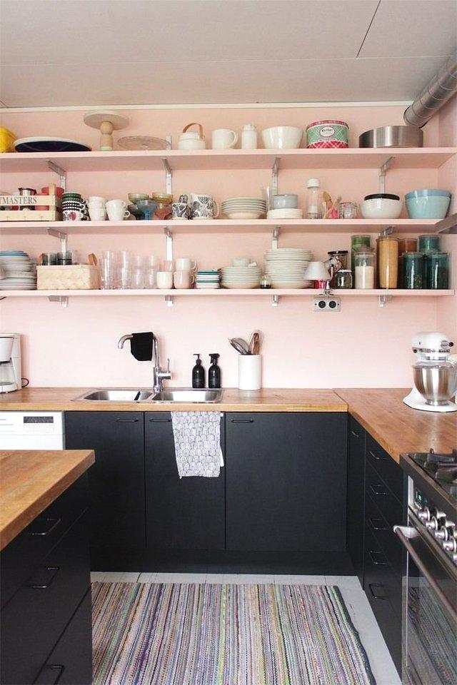 厨卫还在贴瓷砖?刷上乳胶漆,颜色搭配丰富还能跟瓷砖混拼!超美