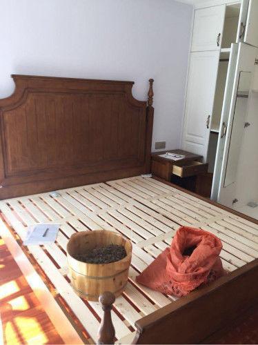 装修不带家具电器已经花了11万,打扫干净晒晒,亲戚说瓷砖好看