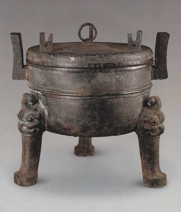 熊悍青铜鼎,一件铸造于乱世,沉寂千年,出土于乱世的国宝