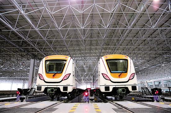 """广州地铁向技术创新要""""环保"""""""