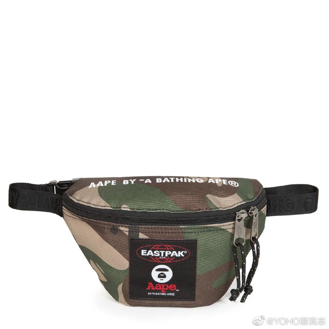 AAPE BY A BATHING APE® 与美国著名箱包品牌 EASTPAK 携手带来首个联