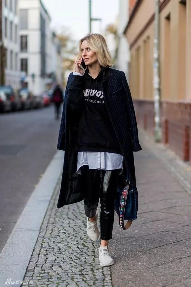 毛衣+衬衫才是今年秋冬最温暖的叠搭套路!