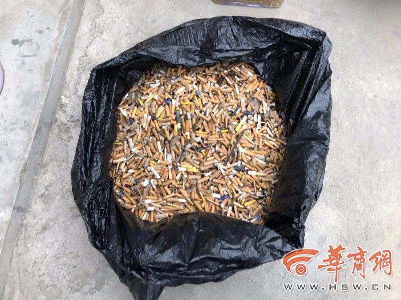 胡家庙街道办出治理扔烟头新招:一公斤烟头可换两升食用油