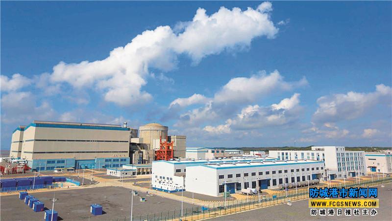 安全第一 质量第一 追求卓越——防城港核电因此荣获广西主席质量奖,系我市首家,也是广西电力企业的首家