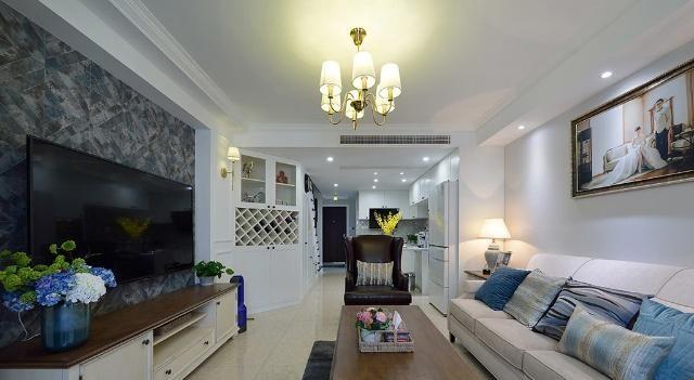 120?复式新房,进门就被玄关吸引住了,楼梯柜最实用,晒一晒!