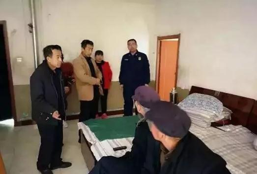 灵石消防、民政联合开展养老机构安全检查