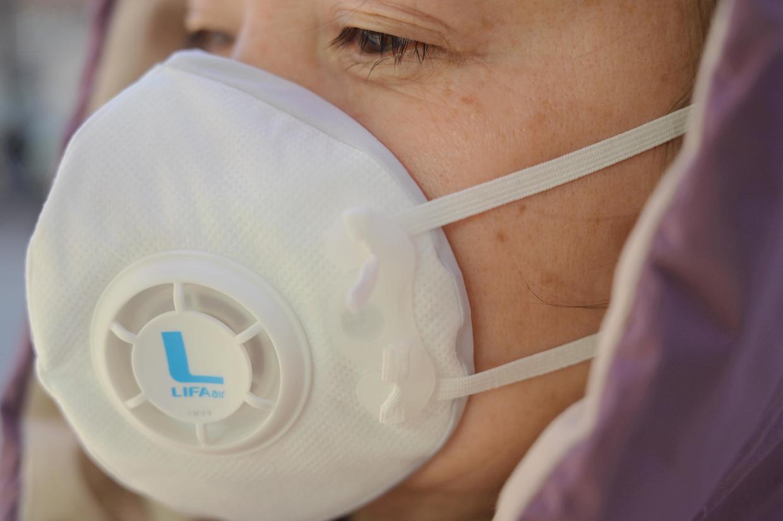 强效过滤的防护口罩,同样可以戴着很舒服,LIFAairLM99就是这样
