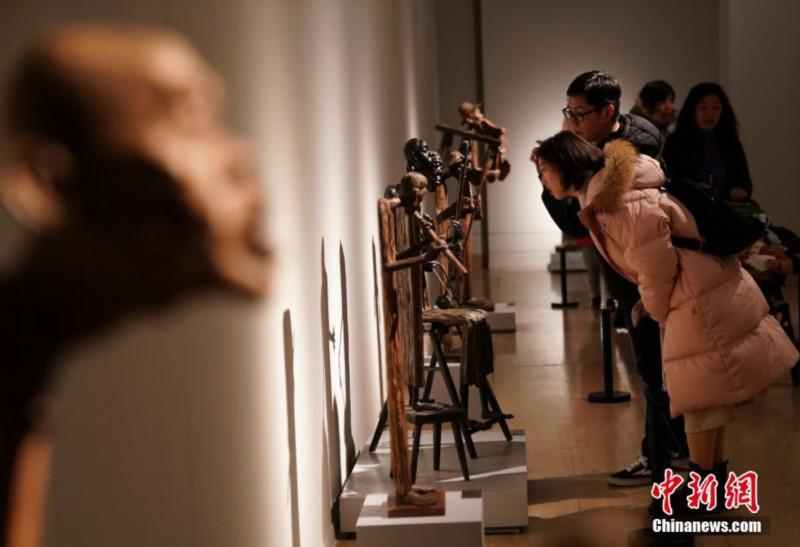 """李先海雕塑艺术展""""在中国美术馆开幕"""