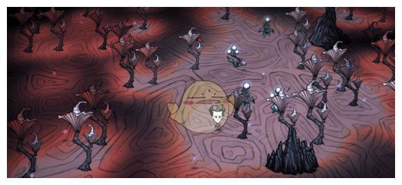 《饥荒:联机版》洞穴地形完全解析——红蘑菇森林篇