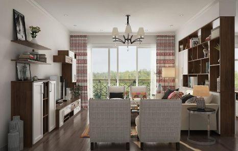 新房装修,越来越多人选择明装筒灯免吊顶的装修方式
