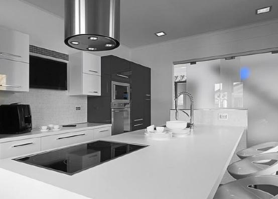 越来越多人在厨房装这种插座,实用又美观,回家我也效仿