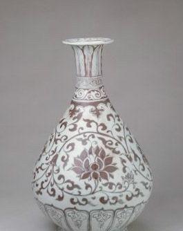 探索瓷中精品|解析元代釉里红瓷器的独特艺术魅力