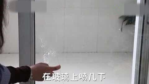 玻璃脏了不用擦,只要用它喷一下,灰尘去光光,不知道太可惜了!
