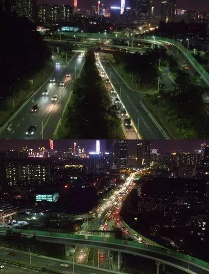 半个月过去了,彩田路自动化潮汐车道起作用了吗?