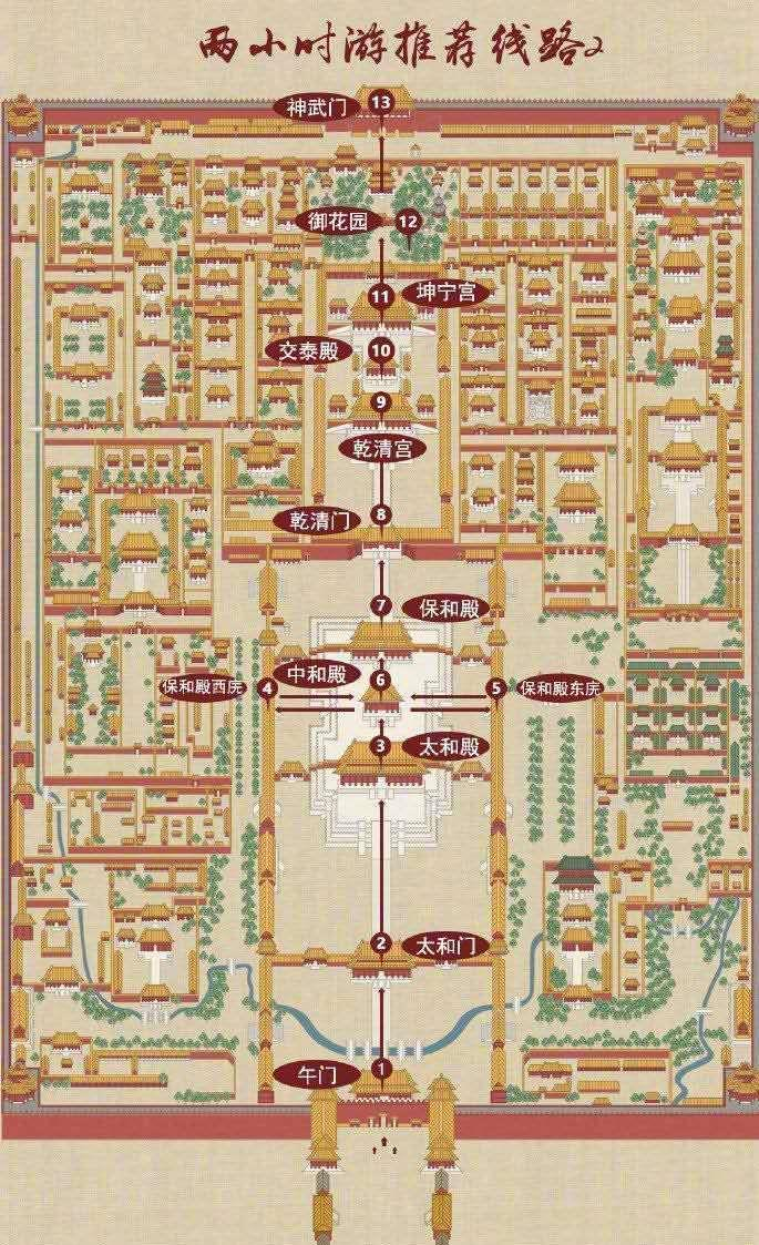 《上新了!故宫》打造故宫零距离故宫官宣:给你游览线路