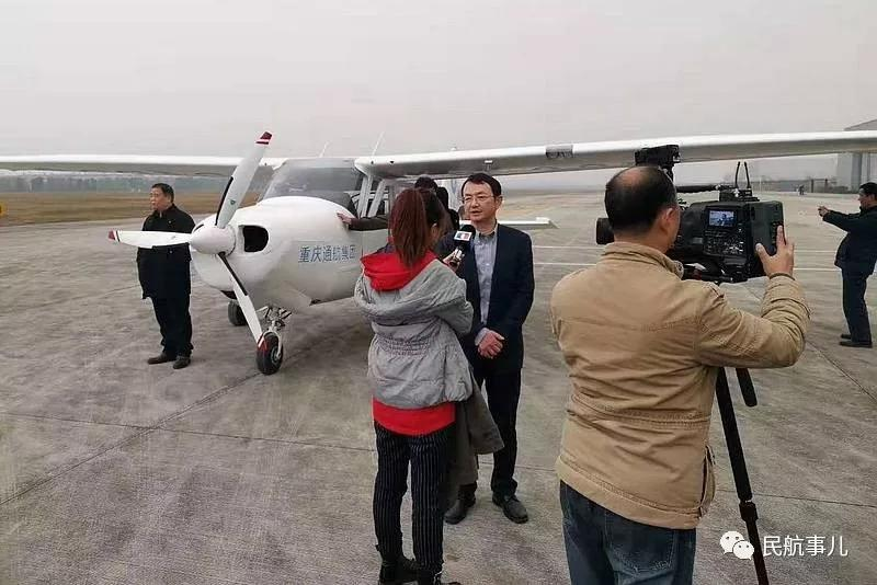 国内首款全玻纤复材四座固定翼飞机CG231成功首飞