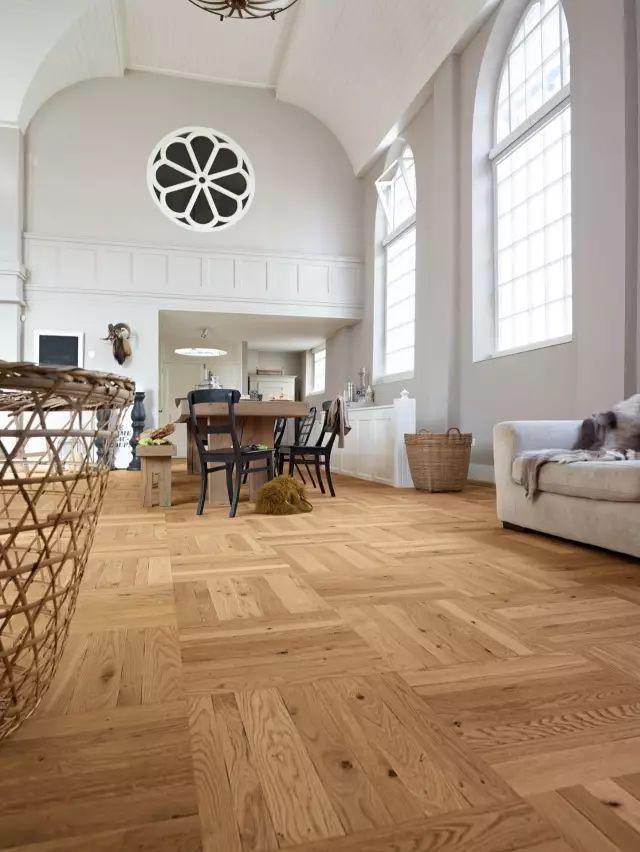 地板这样拼,绝对超时髦~