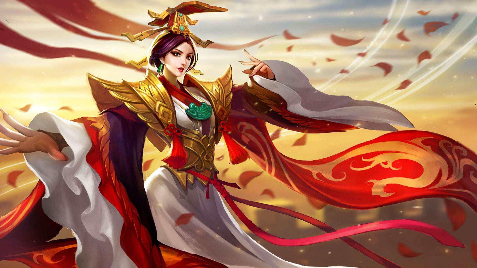 王者荣耀: 身着帝王服饰的3位英雄, 最后的她是嬴政的高祖母
