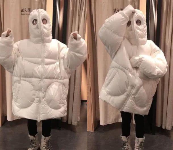 """最近火了一款网红棉服:叫""""防寒服""""+马丁靴,这么穿时髦炸了!"""