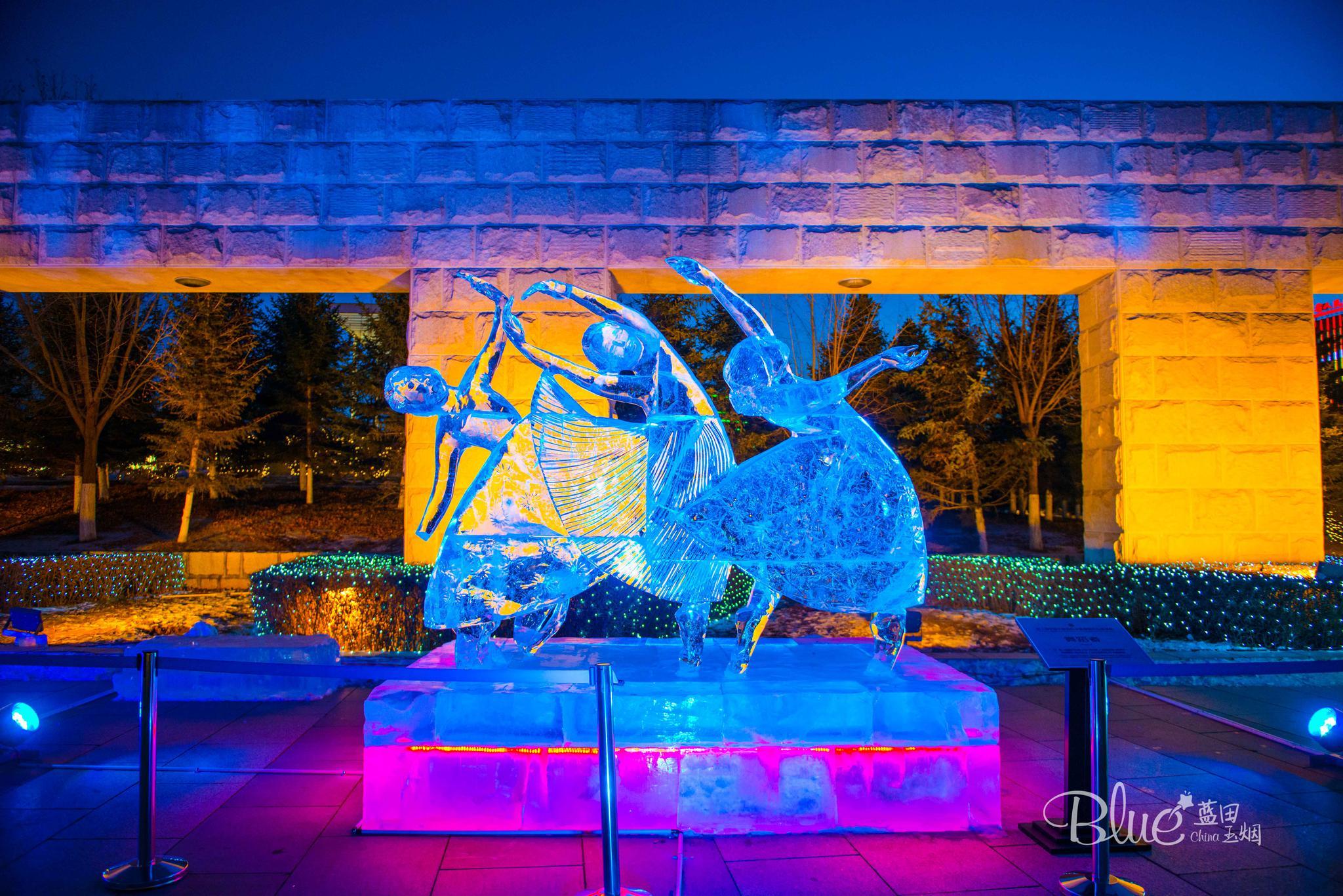 今年最美的冰雕,绝对是在长春雕塑园,不看绝对会后悔