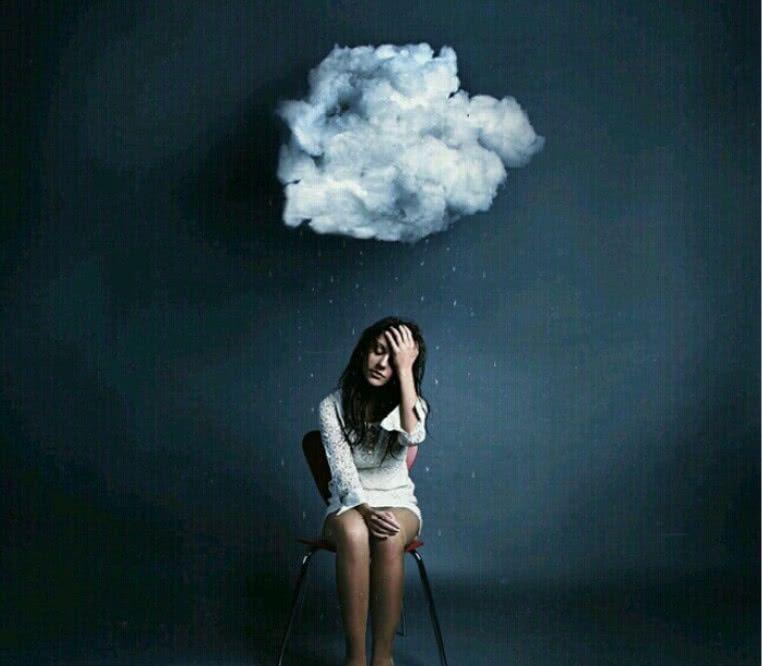 狗丧·微信聊天·壁纸:蓝天白天、快乐悲伤、都是童话一般的虚幻