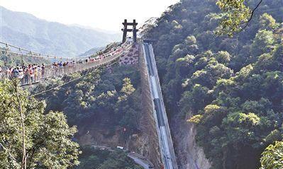世界上垂直高差最大的户外扶梯:清远峡谷扶手电梯高88米