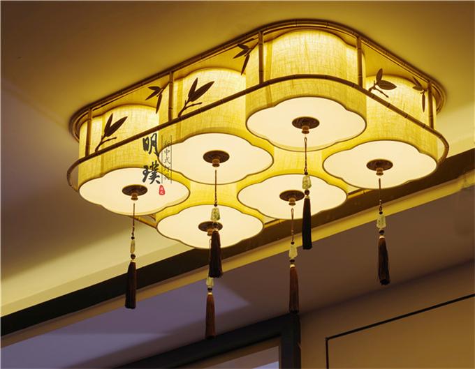 新中式灯具,领略中式元素之美