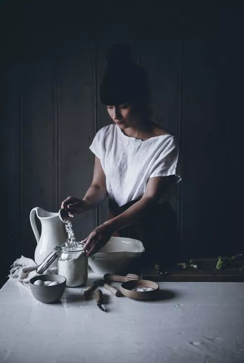 不会烘焙的食品作家不是一名好的摄影师,给大神跪了!
