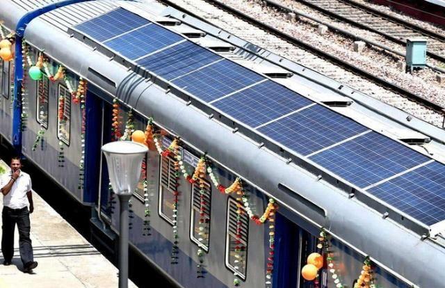 """印度率先发明太阳能火车,声称已经""""超越""""中国!体验了才知道"""
