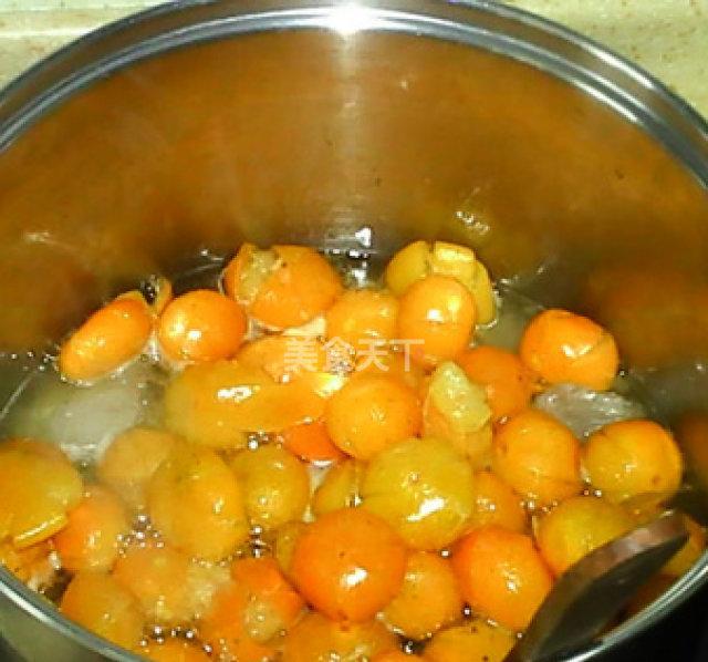 自己做的糖渍金桔,没有一滴添加剂,家里孩子们都爱吃