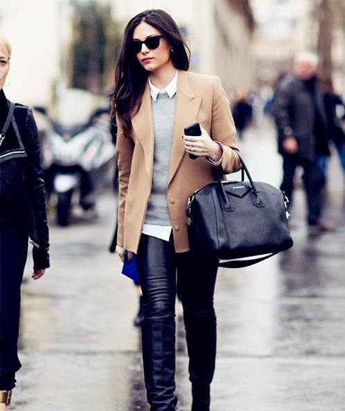 小西装真的超酷! 让你的穿搭风格变得修身又有气质, 女神都这么穿