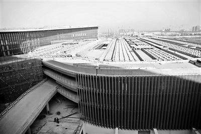 北京大兴国际机场内装修完成80%?地下一层可换乘高铁地铁