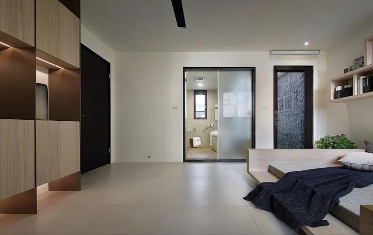 便利又时尚!10款含卫浴的房间设计