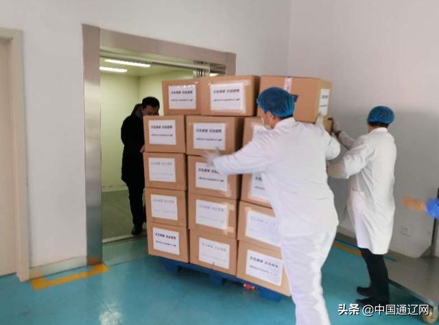 """全速复工 全力抗""""疫""""通辽市迪士牛食品有限公司向武汉捐赠价值75万元牛肉制品"""