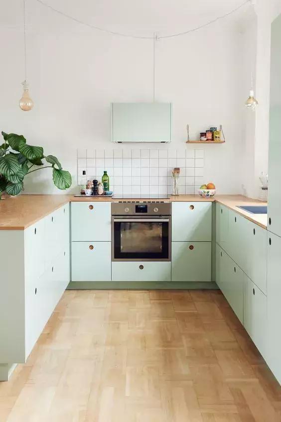 谁说厨卫只能贴砖?看看外国人是怎么做的!