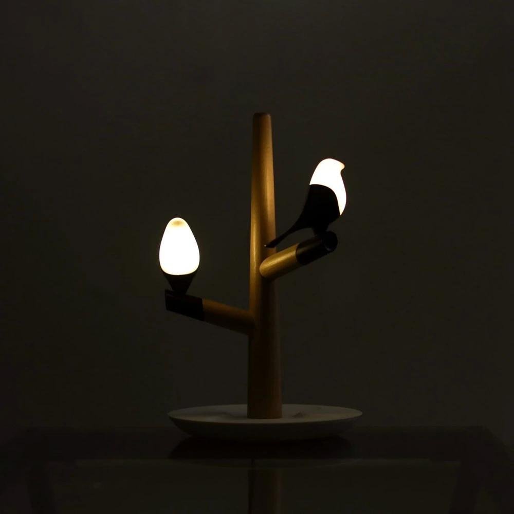小鸟灯,将小鸟的形态与灯具巧妙的结合,这样的灯你喜欢吗