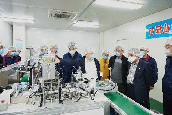 广州工控加快推进医用口罩生产线建设