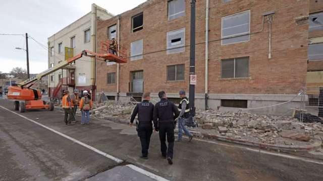 美国犹他州盐湖城发生5.7级地震 疫情未平地震又起致7万家庭断电机场关闭 美国犹他州地震为近28年最强