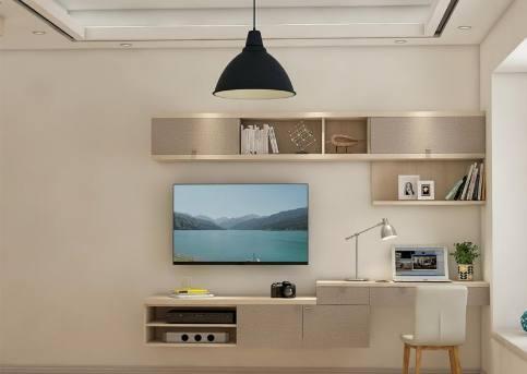 越来越多人喜欢在卧室装电视机了,老师傅说壁挂式的安装法最流行