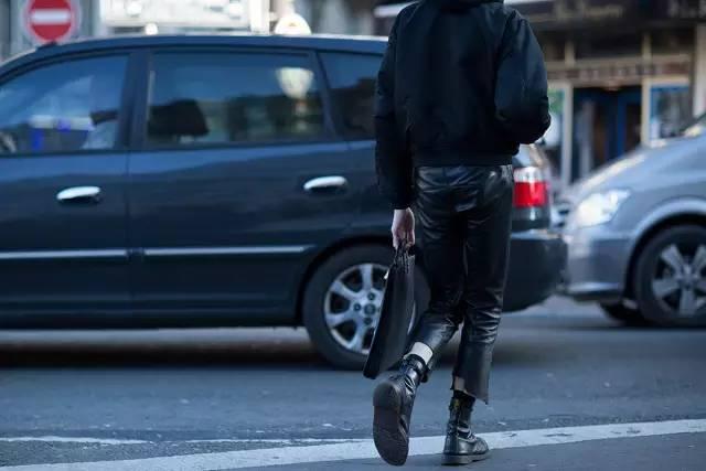 不够高就别大衣了,短夹克也可以带你飞