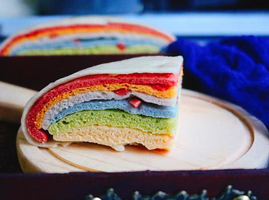 """孩子不喜欢吃主食?试试这道""""彩虹馒头"""",纯天然色素不含添加剂"""