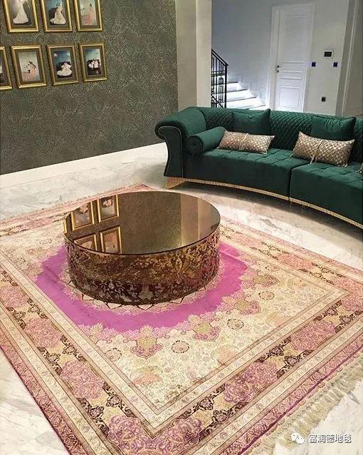 富润德手工真丝地毯之------巴蜀风云系列