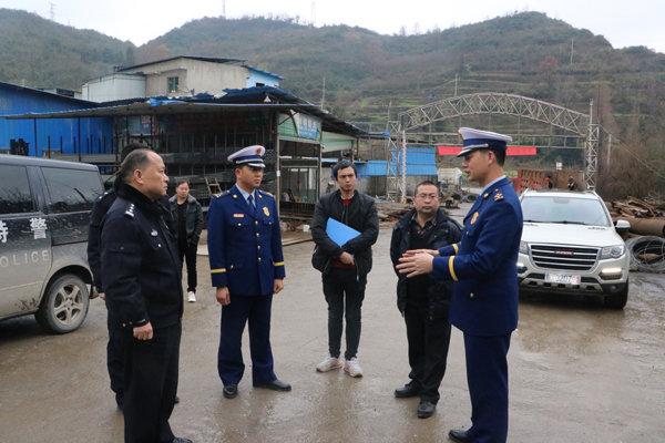 贵州新蒲消防深入辖区钢材建筑场所开展消防安全专项检查