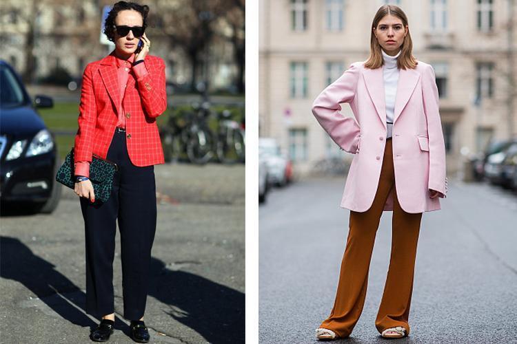 时髦职场丽人们的小西服,总是能够带来无限的别样魅力