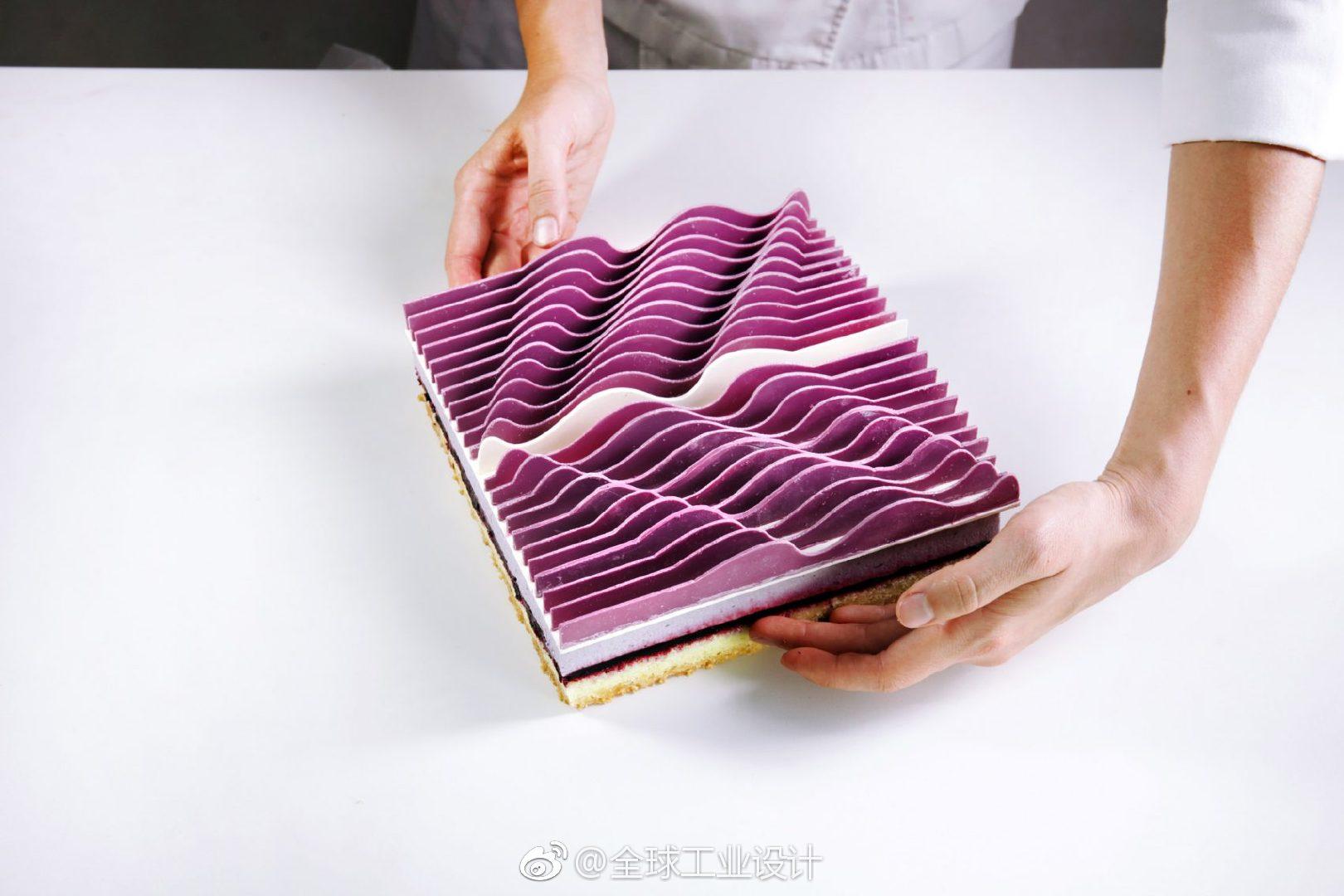 艺术家JoséMargulis的多层、三维作品已经被建筑师转变为糕点厨师Dina