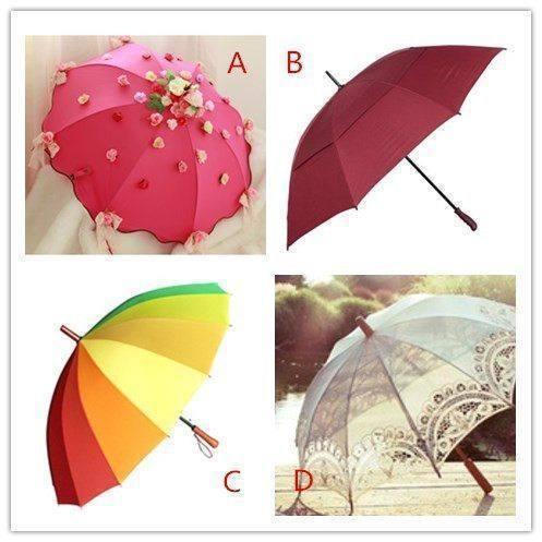 心理测试:四把常见的雨伞选一个,测你的心理健康指数