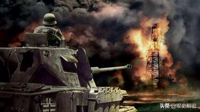 致命的闪电战,一桶石油拖垮强大德军装甲部队